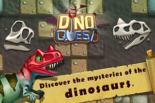 Dino Quest: Dinosaur Dig Game скриншот 1