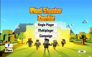 Pixel Shooter: Zombies скриншот 1