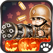 Little Commander: WW2 Halloween иконка