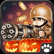 Little Commander: WW2 Halloween иконка