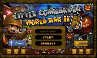 Little Commander: WW2 Halloween скриншот 1