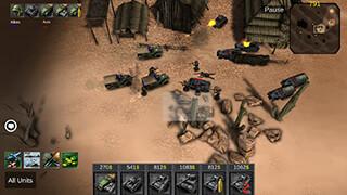 War of Glory: Blitz скриншот 1