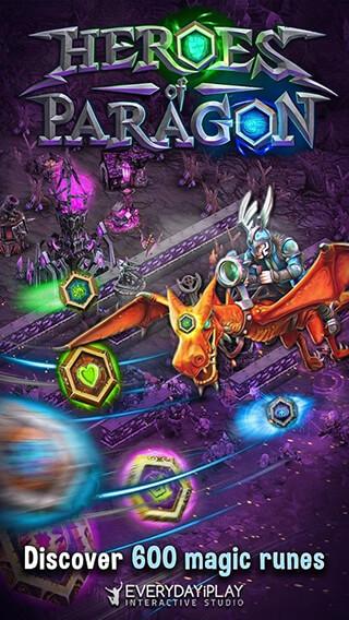Heroes of Paragon скриншот 2