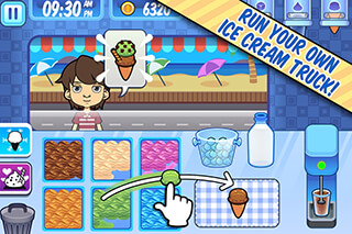 My Ice Cream Truck: Fun Game скриншот 1