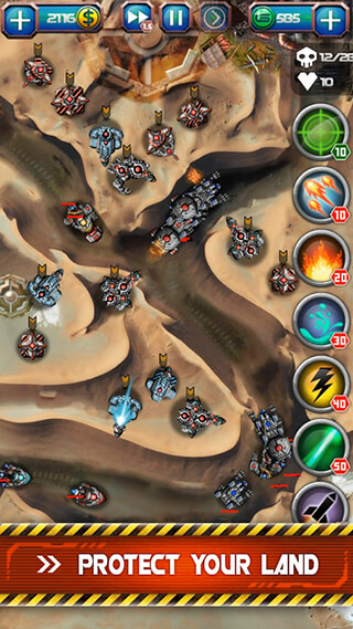 Galaxy Defense 2: Transformers скриншот 3