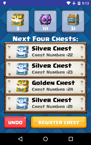 Chest Tracker скриншот 3