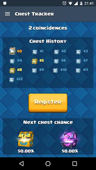 Chest Tracker Calculator скриншот 4