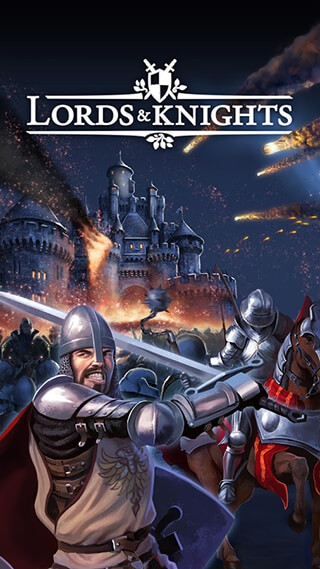Lords and Knights: Strategy MMO скриншот 1