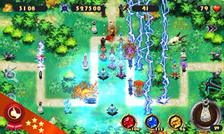 Epic Defense: The Elements скриншот 2