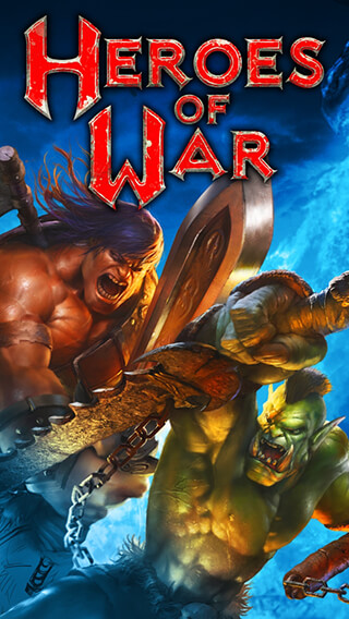 Heroes of War: Orcs vs Knights скриншот 1