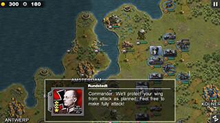 Glory of Generals скриншот 1