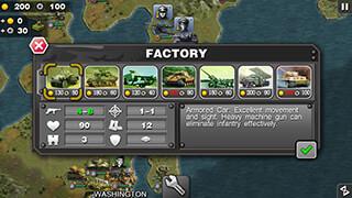 Glory of Generals скриншот 2
