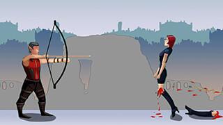 Apple Shooter: Protect Girl скриншот 1