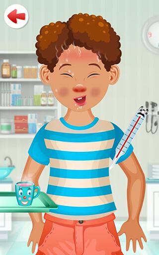 Kids Doctor Game: Free App скриншот 1