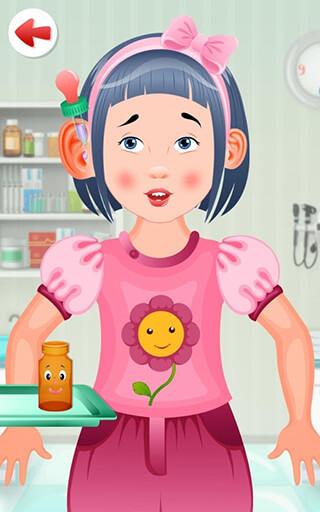 Kids Doctor Game: Free App скриншот 4