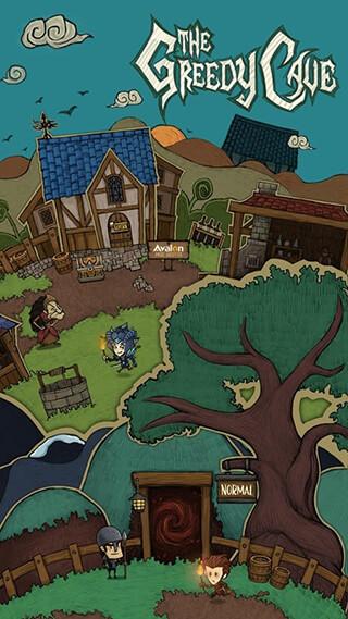The Greedy Cave скриншот 1