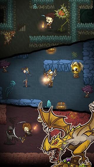 The Greedy Cave скриншот 2