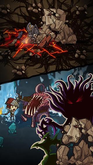 The Greedy Cave скриншот 3