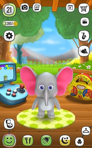 My Talking Elly: Virtual Pet скриншот 1