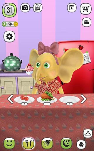 My Talking Elly: Virtual Pet скриншот 2