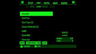 Fallout Pip-Boy скриншот 2