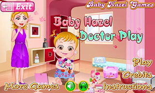 Baby Hazel: Doctor Play скриншот 1