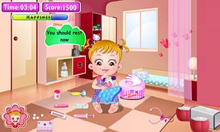Baby Hazel: Doctor Play скриншот 2