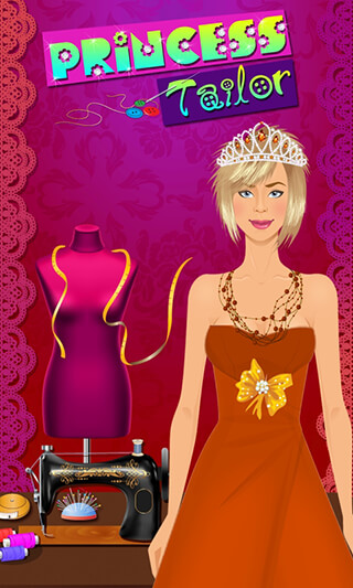 Princess Tailor Boutique скриншот 1