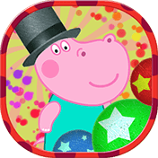 Kids Circus with Hippo иконка