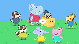 Kids Circus with Hippo скриншот 1