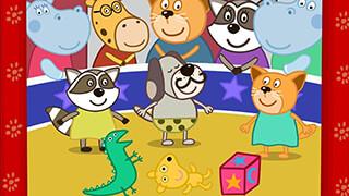Kids Circus with Hippo скриншот 2