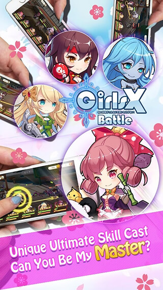 Girls X: Battle скриншот 3