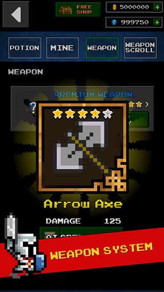 Dungeon and Pixel Hero: Retro RPG скриншот 2