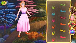 Dress Up: Cinderella скриншот 1