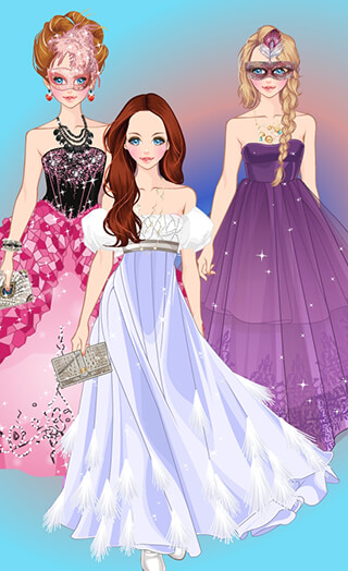 Doll Princess Prom Dress Up скриншот 1