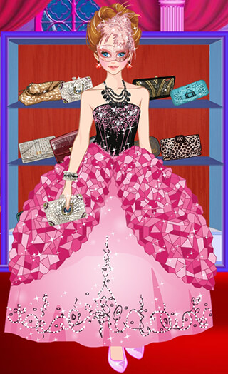 Doll Princess Prom Dress Up скриншот 3
