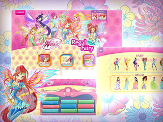 Winx: Regal Fairy скриншот 1