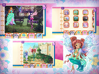 Winx: Regal Fairy скриншот 2