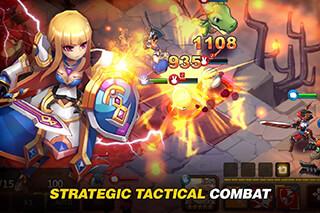 Fantasy War: Tactics скриншот 1