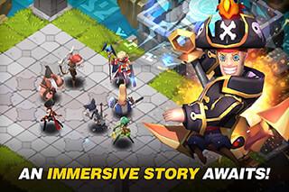 Fantasy War: Tactics скриншот 2
