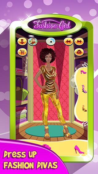 Fashion Girl: Makeover Salon скриншот 2