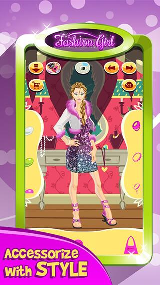 Fashion Girl: Makeover Salon скриншот 3
