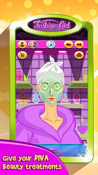 Fashion Girl: Makeover Salon скриншот 4