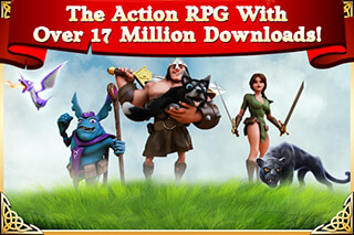 Arcane Legends: MMO-Action RPG скриншот 1