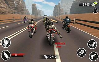 Highway Stunt Bike Riders скриншот 1