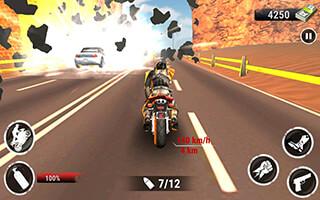 Highway Stunt Bike Riders скриншот 2