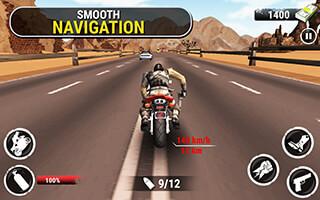 Highway Stunt Bike Riders скриншот 4