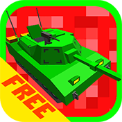 Cube Tanks: Blitz War 3D иконка