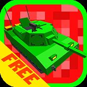 Cube Tanks: Blitz War 3D иконка