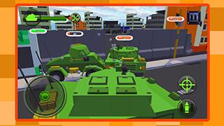 Cube Tanks: Blitz War 3D скриншот 3